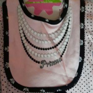 Baby Gear Matching Sets - NWT!! 4 piece pink paris, pearl, polkadot set